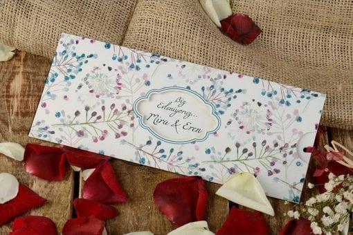 Faire Part Mariage Floral Branchage
