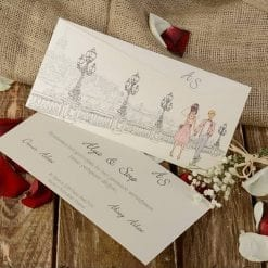 Faire Part Mariage Marche Romantique