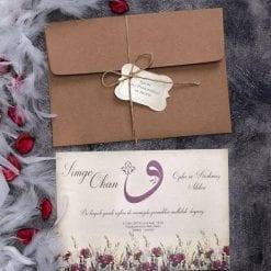 Faire Part Mariage Champ De Fleurs