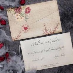 Faire Part Mariage Lettre D'amour