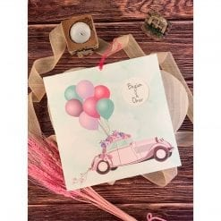 Faire Part Mariage Just Married N38