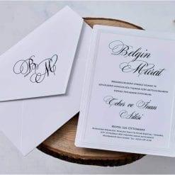 Faire Part Mariage Relief Avec Enveloppe