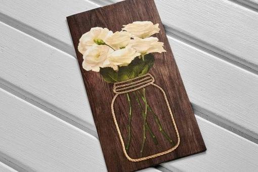 Faire Part Mariage Bouquet De Fleurs