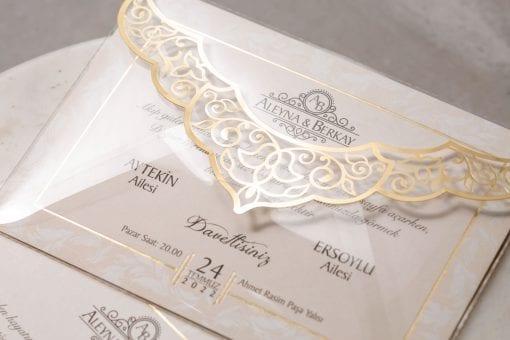 Faire Part Mariage Enveloppe Transparente