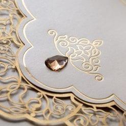 Faire Part Mariage Perle Sur Arabesque