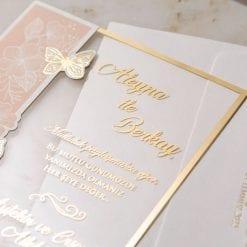 Faire Part Mariage Transparent Papillons