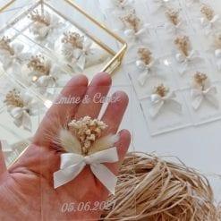 Bouquet Champêtre avec Nœud